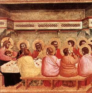 Giotto Di Bondone - Last Supper 1320-25