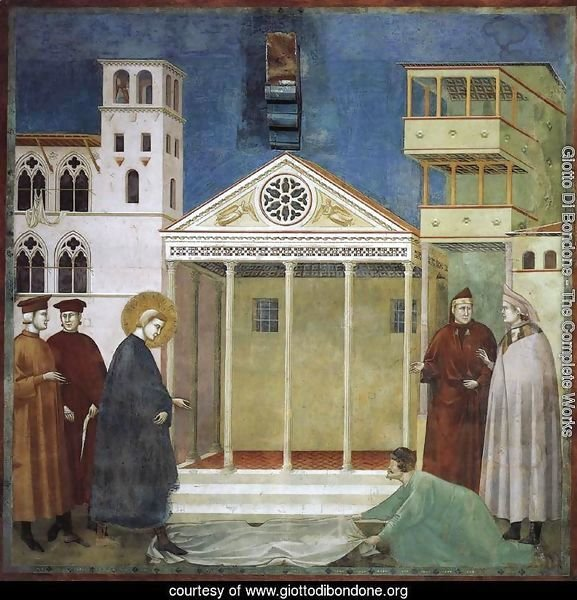 Legend of St Francis- 1. Homage of a Simple Man 1300