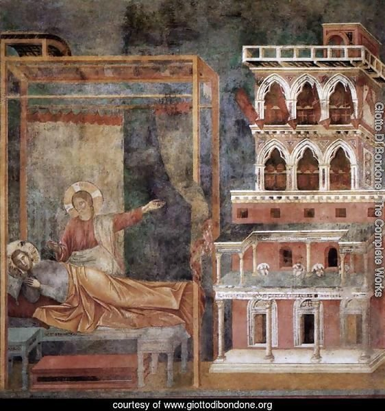 Legend of St Francis- 3. Dream of the Palace 1297-99