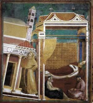 Legend of St Francis- 6. Dream of Innocent III 1297-99