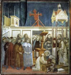 Legend of St Francis- 13. Institution of the Crib at Greccio 1297-1300