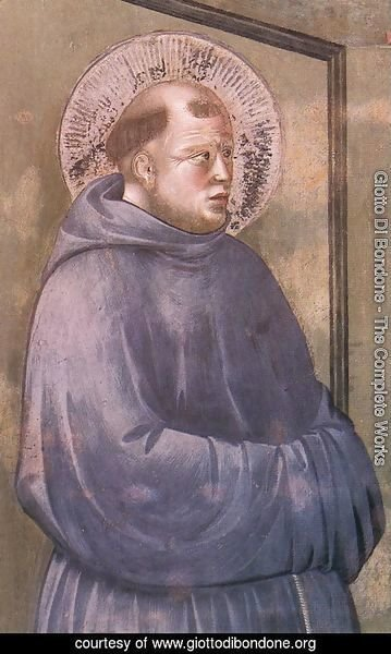 Legend of St Francis- 18. Apparition at Arles 1297-1300