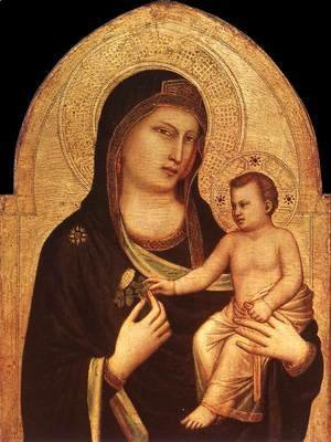 Giotto Di Bondone - Madonna and Child 1320-30