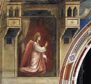 Giotto Di Bondone - No. 14 Annunciation- The Angel Gabriel Sent by God 1306
