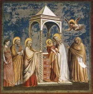 Giotto Di Bondone - No. 19 Scenes from the Life of Christ- 3. Presentation of Christ at the Temple 1304