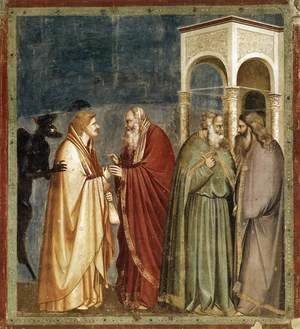 Giotto Di Bondone - No. 28 Scenes from the Life of Christ- 12. Judas' Betrayal 1304-06