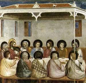 No. 29 Scenes from the Life of Christ- 13. Last Supper 1304-06