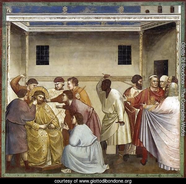 No. 33 Scenes from the Life of Christ- 17. Flagellation 1304-06
