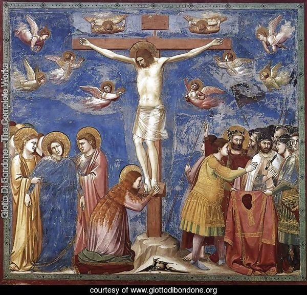 No. 35 Scenes from the Life of Christ- 19. Crucifixion 1304-06