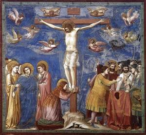 Giotto Di Bondone - No. 35 Scenes from the Life of Christ- 19. Crucifixion 1304-06