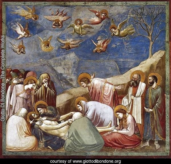 No. 36 Scenes from the Life of Christ- 20. Lamentation (The Mourning of Christ) 1304-06