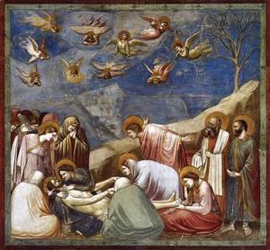 Giotto Di Bondone - No. 36 Scenes from the Life of Christ- 20. Lamentation (The Mourning of Christ) 1304-06