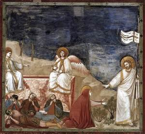 Giotto Di Bondone - No. 37 Scenes from the Life of Christ- 21. Resurrection (Noli me tangere) 1304-06