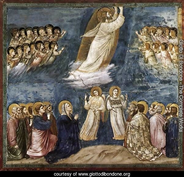 No. 38 Scenes from the Life of Christ- 22. Ascension 1304-06