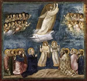 Giotto Di Bondone - No. 38 Scenes from the Life of Christ- 22. Ascension 1304-06