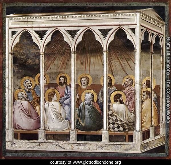 No. 39 Scenes from the Life of Christ- 23. Pentecost 1304-06