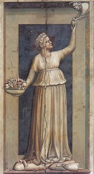 Giotto Di Bondone - No. 45 The Seven Virtues- Charity 1306