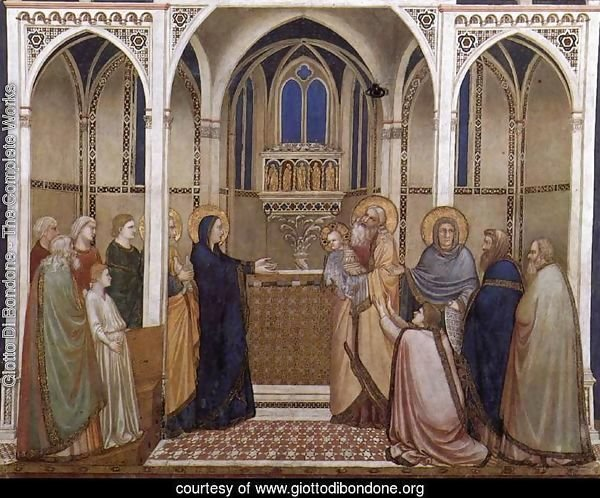 Presentation of Christ in the Temple 1310s