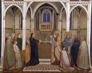Giotto Di Bondone - Presentation of Christ in the Temple 1310s
