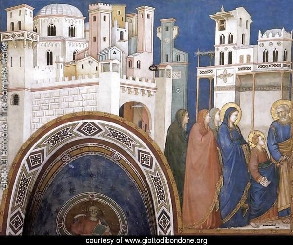 Return of Christ to Jerusalem 1310s