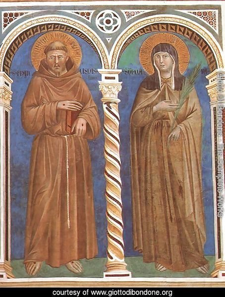 Saint Francis and Saint Clare 1279-1300