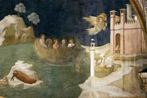 Scenes from the Life of Mary Magdalene- Mary Magdalene's Voyage to Marseilles 1320