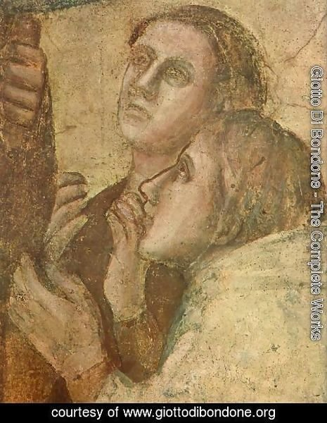 Giotto Di Bondone - Scenes from the Life of St John the Evangelist- 2. Raising of Drusiana (detail 2) 1320