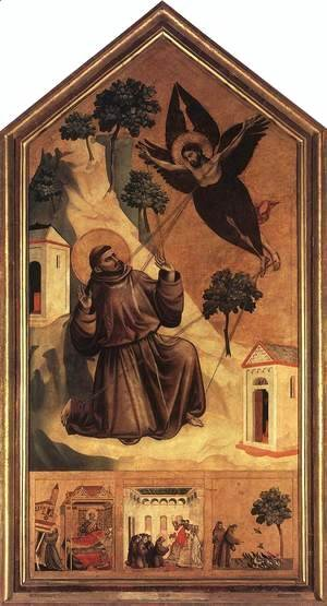 Stigmatization of St Francis 1300
