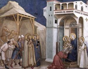 Giotto Di Bondone - The Adoration of the Magi 1310s
