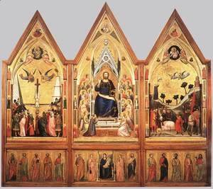 The Stefaneschi Triptych (recto) c. 1330
