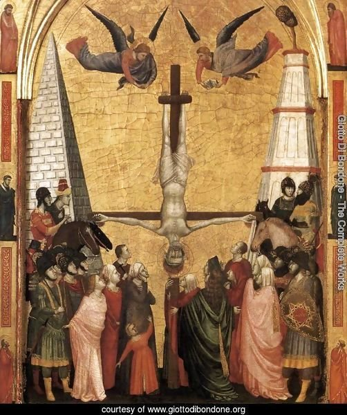 The Stefaneschi Triptych- Martyrdom of Peter c. 1330