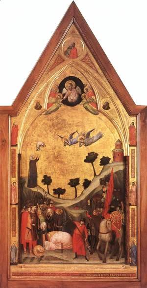 The Stefaneschi Triptych- Martyrdom of St Paul c. 1330