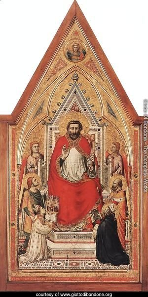 The Stefaneschi Triptych- St Peter Enthroned c. 1330