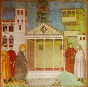 Giotto Di Bondone - Homage of a Simple Man (Omaggio di un semplice)